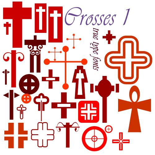 crosses-fonts